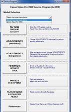Service Program Epson Stylus Pro 4900