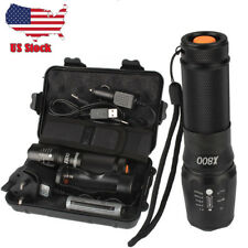 8000lm X800 Tactical Flashlight LED Zoom Military Torch G700