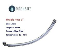1inch Flexible Stainless Hose for Pressure Tank 1m Long