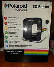 Polaroid PlaySmart 3D Printer w/ WIFI Camera PL-1001-00 NEW