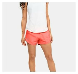 Under Armour Women's UA Mileage Exposed Shorts 1344967-836 Size S