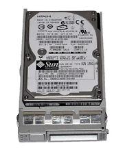 "SUN Hitachi 146GB 10K 2.5"" SAS Hard Drive w/ Tray P/N: 0B22382"
