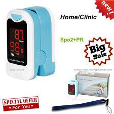 FDA Fingertip Pulse Oximeter Blood Oxygen meter SpO2 Heart Rate Patient Monitor