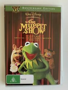 The Muppet Show Season 1 DVD 4-Disc PAL Region 4 Special Collector's Edition NEW