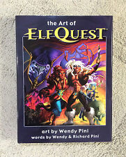 """ART of ELFQUEST"" HC by W&R Pini - Wendy Pini art - beautiful book! SIGNED!"