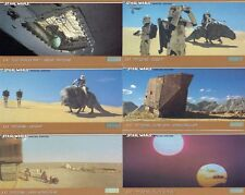 Star Wars Trilogy Special Edition 72 Widescreen Movie Card Set - TOPPS 97