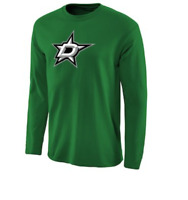 NHL Dallas Stars Long Sleeve Hockey Shirt New Mens Sizes