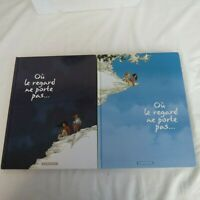 Ou le regard ne port pas.. Lot of 2 Dargaud in French Hardback