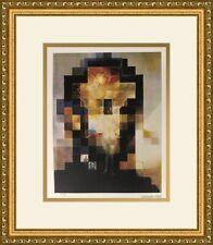 Salvador Dali Lincoln in Dalivision L/ED  Newly Custom Framed Print FREE SHIP