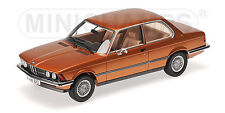 MINICHAMPS 107024300 Maßstab 1:18, BMW 323I (E21) - 1978 - BROWN #NEU in OVP#