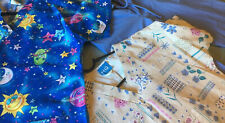 Mixed Lot 2 Hq Scrubs Tops And One Pair Cargo Pants xsmall