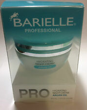 BARIELLE PROFESSIONAL PRO HYDRATING NIGHT CREAM ARGAN OIL 42.5 ML /1.5 OZ NEW.