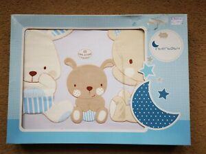 Infant Baby Kids Bedding Set Blue 3 Piece New
