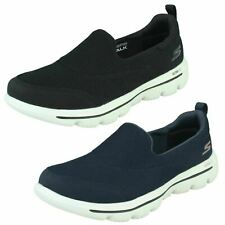 Ladies Skechers Light Weight Go Walk Slip On Ultra Casual Shoes Evolution Reach