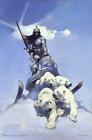 "Silver Warrior by Frank Frazetta Art Print Mini Poster- 11"" x 17"""