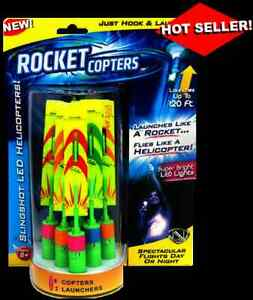 ROCKET COPTERS - Insanely FUN! & Amazing! LED Helicopters! UNBOXD To Save U BUX!