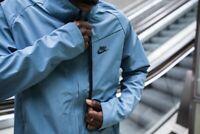 Nike Sportswear Lifestyle Jacket Men's L Blue/Black Tech Pack Tech Shield NWT