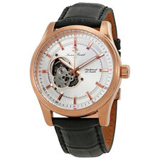 Lucien Piccard Morgana Open Heart Automatic Mens Watch LP-40006M-RG-02S
