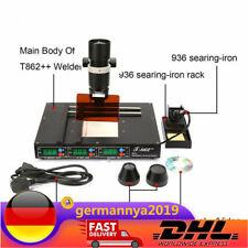 Soldering SMD IRDA Welder IR BGA Infrared Rework Station Schweißgeräte T862++ DE