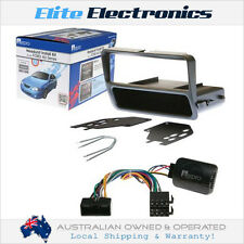 AERPRO VEHICLE INSTALL KIT FOR FORD FALCON AU 1998-2002 SWC + GREY FACIA + TOOL