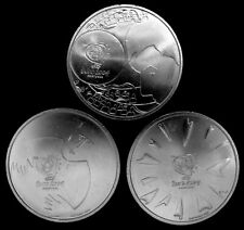 LOT OF 3 PORTUGAL 2004  8 EURO SILVER COINS UNCIRCULATED 064