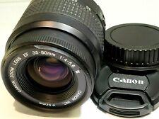 Canon EF 35-80mm f4-5.6 III Lens for digital rebel T7i SL3 90D 80D cameras