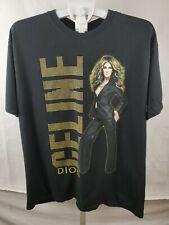 Men's Anvil Celine Dion 2008 World Tour T Shirt Size XL