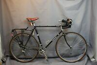 1983 Sekai 2500 Vintage Touring Road Bike Large 58cm Canti Cromoly Steel Charity