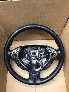 2007-2008 ACURA TL Steering Wheel  Black Leather OEM