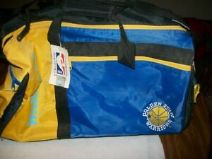 NEW! VINTAGE NBA Golden State Warriors Gym Travel Luggage Duffel Bag
