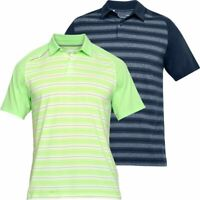UNDER ARMOUR THREADBORNE BOUNDLESS SHORT SLEEVE MENS GOLF POLO SHIRT 65% OFF
