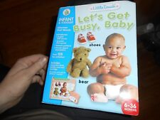 Leapfrog Little Touch Let's Get Busy, Baby Toddler 6-36 months English Spanish