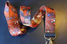 Spiderman CARNAGE Green Goblin Venom Lanyard Keychain ID Badge Holder Marvel USA