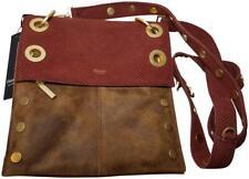 Hammitt Montana Crossbody Bag Reversible Medium  Henna snake/ Arches Buffed new