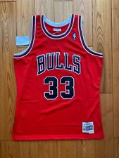 100% Authentic Scottie Pippen Mitchell Ness 97-98 Chicago Bulls Jersey Swingman
