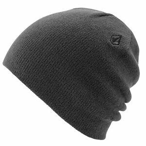 Volcom Woolcott Beanie Knitted Cap Wool Winter Hat Leisure Grey