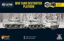 M10 TANK DESTROYER PLATOON - BOLT ACTION WARLORD - WW2 AMERICAN -SENT 1ST CLASS!