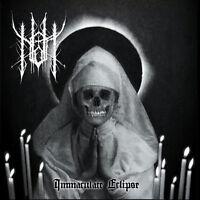 Nott – Immaculate Eclipse CD - Italian 90s style Black Metal Blackmetal NEW