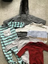 Baby Boy Clothes Lot 5 Piece 3-9 Months Fall Winter Jacket Pjs Sweater Holiday