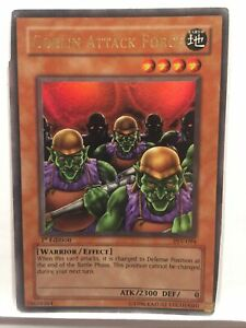 Yugioh Goblin Attack Force Psv-094 1st Edition Ultra Rare Hp