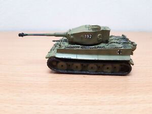Carro Armato Panzer Tiger I Scala 1/72 In Piombo
