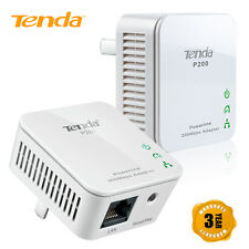 Tenda P200-TWIN 200Mbps Nano Powerline Ethernet Adapter Home Plug Twin Kit Pack