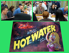 AMERICAN DAD HOT WATER sdcc  FOX  Signed Poster WENDY SCHAAL RACHAEL MACFARLANE