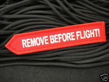 ill Gear Remove Before Flight GITD HOOK & LOOP PATCH Backpacks Military Bags