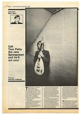 Tom Petty Interview NME Cutting 1980