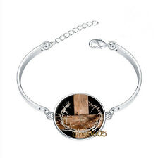 Crown of Thorns Bracelet Photo Glass Cabochon Tibet silver Bracelets