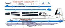 Piedmont NAMC YS-11A 1/144 airliner decals for Hasegawa kit