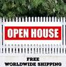 OPEN HOUSE Advertising Vinyl Banner Flag Sign Grand Opening Business Fair Motel