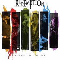 Redemption - Alive in Color (Bluray + 2CD Digipak) BLU-RAY NEU OVP VÖ 28.08.2020