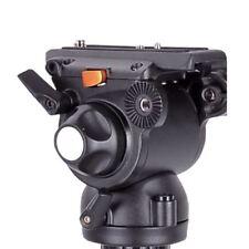 E-image GH03F Pro Fluid Video Flat Head For Tripod, Slider,Jib,Crane, Stabilizer